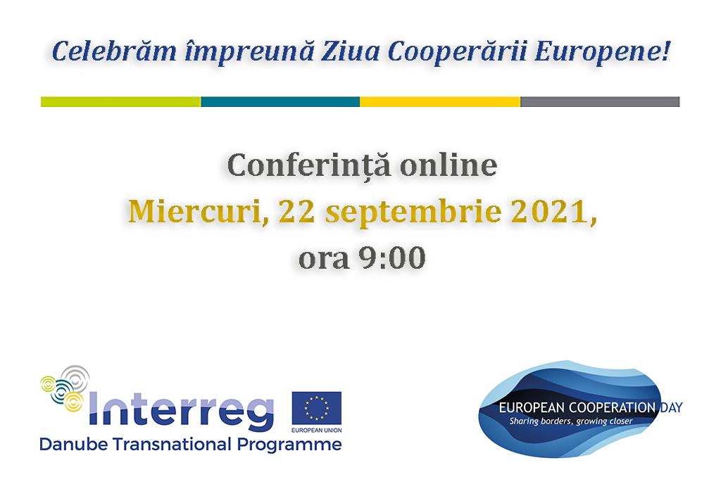 Comunicat de presă: Conferință dedicată beneficiilor colaborării transnaționale în regiunea Dunării, în contextul Zilei Cooperării Europene